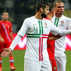 Miguel Veloso - Veloso in action against Russia in 2012