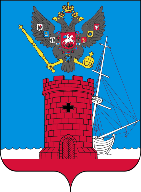 Russian coat of arms of Feodosia (2016)