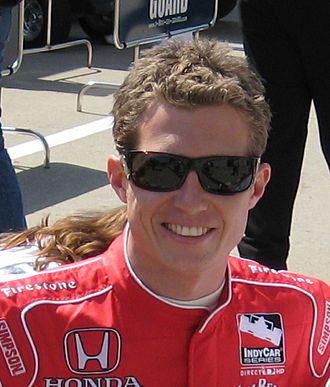 Ryan Briscoe - Briscoe at the Indianapolis Motor Speedway in May 2008.