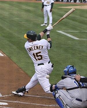 Ryan Sweeney - Sweeney with the Oakland Athletics