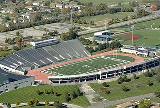 Rynearson Stadium - Aerial view of Rynearson Stadium