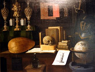 Sebastian Stoskopff - Vanity (c. 1650; Strasbourg, Musée de l'Œuvre Notre-Dame)
