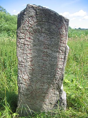 Runestones at Aspa - Sö 138.