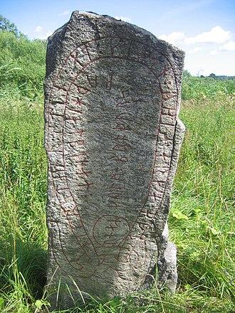 Runestones at Aspa - Sö 138.
