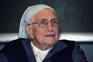 Religious Sister and humanitarian