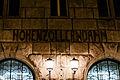 S-Bahnhof Hohenzollerndamm bei Nacht 20140822 4.jpg