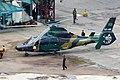 S3-BSI Bangladesh Army Aviation Eurocopter AS365N3+ Dauphin 2 (24800084227).jpg