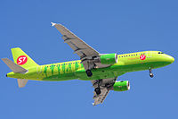 VP-BCP - A320 - S7 Airlines