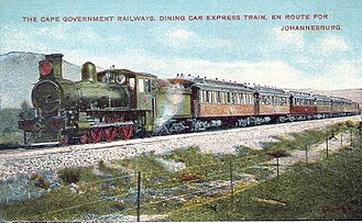 1902 in South Africa - SAR Class 6J