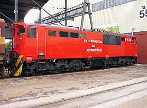 South African Class Experimental AC - Image: SAR Class Exp AC E1600