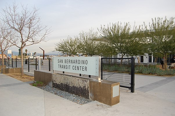 San Bernardino Transit Center