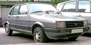 SEAT Málaga Motor vehicle