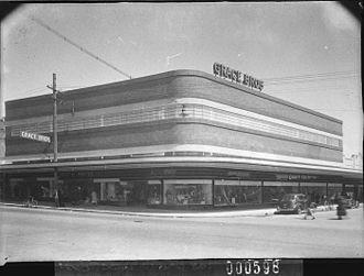 Grace Bros. - Grace Bros, Parramatta in 1939