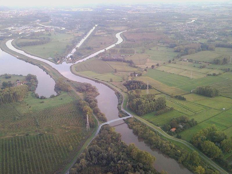 Canal Louvain-Dyle et Senne : construction des ponts cyclistes 799px-SNC01728