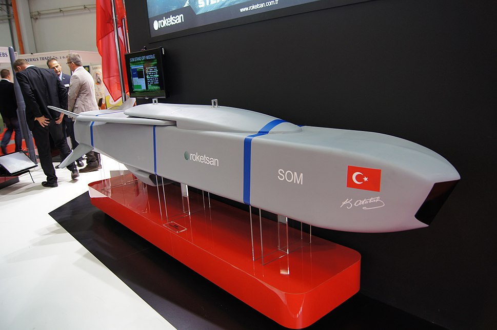 SOM cruise missile mockup on MSPO 2014.jpeg