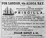 SS Priscilla - Natal Mercury - 12 April 1861.jpg