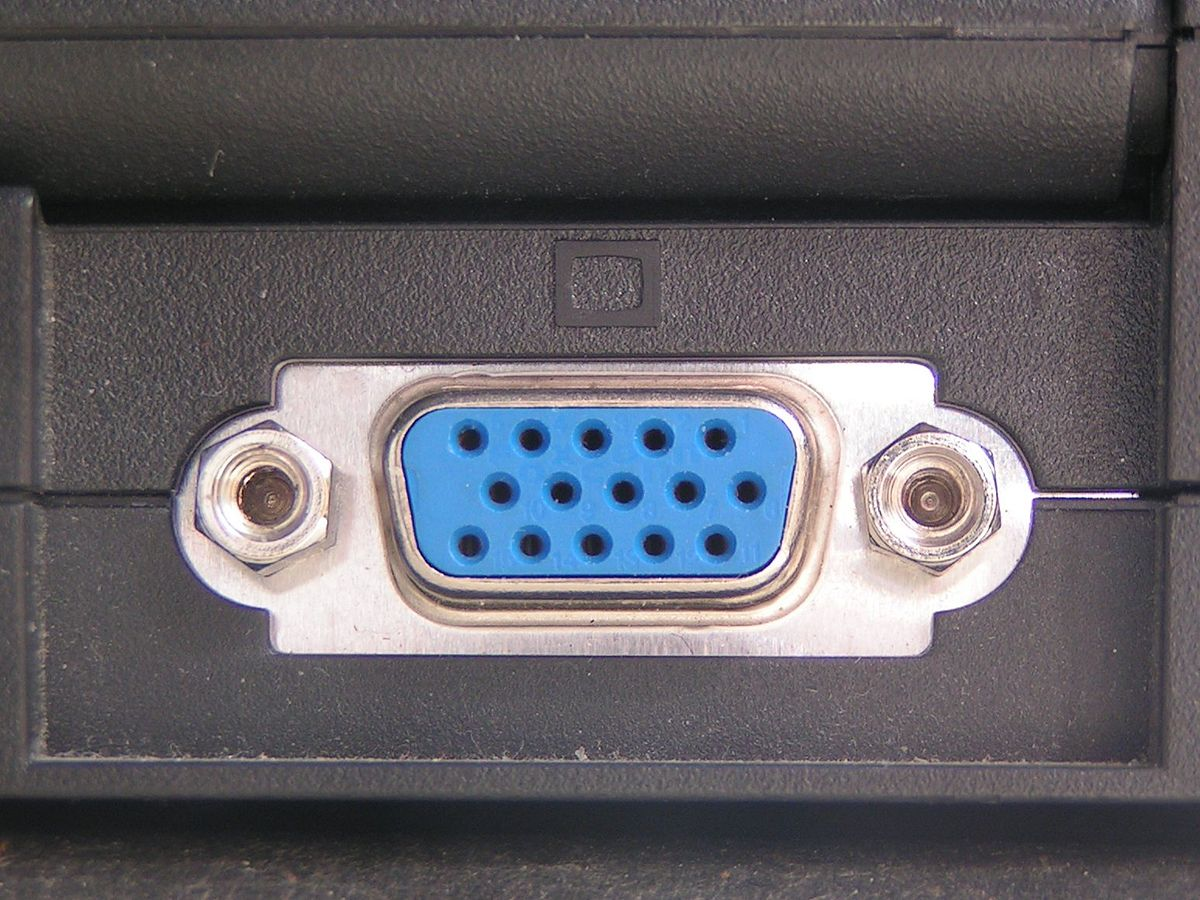VGA connector - Wikipedia