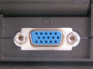 VGA connector three-row 15-pin DE-15 connector