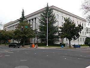 Federal Building (Sacramento) - Sacramento Federal Building, 2012
