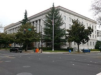 Federal building - The Federal Building of Sacramento, California