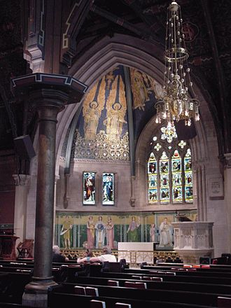 Sage Chapel - The altar and apse of Sage Chapel