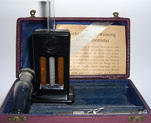 Hermann Sahli - Sahli-Hämometer ca.1930