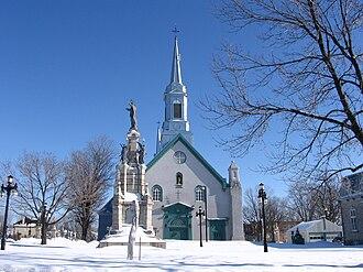 Saint-Augustin-de-Desmaures - Image: Saint Augustine church 2