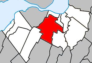 Saint-Constant, Quebec - Image: Saint Constant Quebec location diagram
