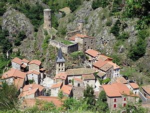 Puy-de-Dôme - Image: Saint Floret 1