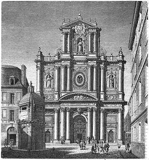 Jean-François Foucquet - Église Saint-Paul in Le Marais