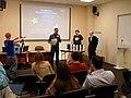 Saint Petersburg Wiki-Conference 2018 ssr07 Wiki-award Nikolay Eikhvald.jpg