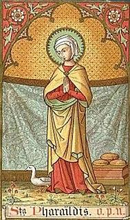 Pharaildis Patron saint of Ghent