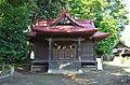 Sakado-jinja (Mito) haiden.JPG