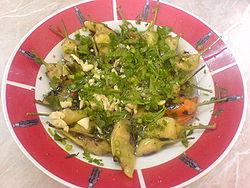 Salad Chilli and garlic