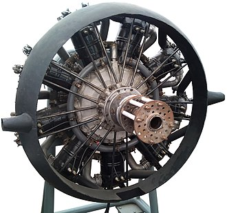Salmson water-cooled aero-engines - A Salmson 9Z water-cooled radial engine