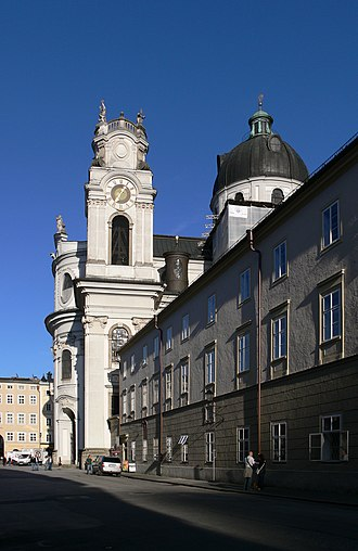 University of Salzburg - Faculty of Catholic theology and Kollegienkirche