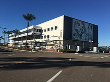 San Diego International Airport     s former Commuter Terminal now houses administrative offices for the San Diego County Regional Airport Authority  SDCRAA