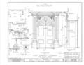 San Carlos Presidio Church, 550 Church Street, Monterey, Monterey County, CA HABS CAL,27-MONT,1- (sheet 15 of 28).png