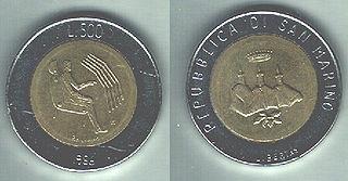 Sammarinese lira currency
