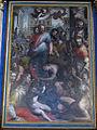San bartolomeo a monte oliveto, int., altare maggiore, cristo e l'emorroissa del poppi 04.JPG