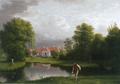 Sanderumgaard fra Havesiden Eckersberg 1806.png