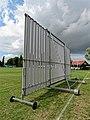 Sandwich Town CC cricket sight screen at Sandwich, Kent, England 03.jpg