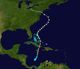 Meteorological history of Hurricane Sandy