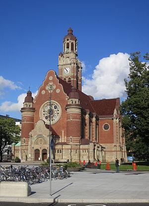 St. John's Church, Malmö - Image: Sankt Johannes kyrka, Malmö, augusti 2014