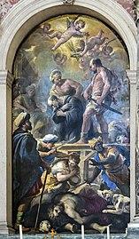 Santa Giustina (Padua) - Martyrdom of St. Placidus by Luca Giordano