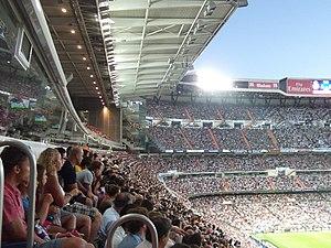 Madrid Derby - Santiago Bernabéu Stadium during Real Madrid vs Atlético in September 2014