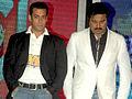 Sarathkumar with Salman Khan at CCL match, India.jpg