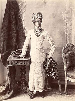 Sumer Singh of Jodhpur - Sumer Singh's father, Sardar Singh, in 1896.
