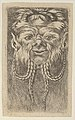 Satyr Mask with Overlapping Horns and Four Braided Strands of Beard, from Divers Masques MET DP837346.jpg