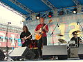 Savoy Brown (featuring Kim Simmonds), South Street Seaport, Bloomberg Blues Jam series, 2002.jpg